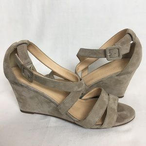 J. Crew Demi Wedge Sandals